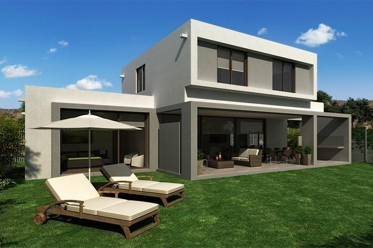 Terrazas de chicureo nueva etapa inmobiliaria aconcagua for Modelo de casa con terraza