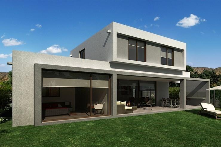 Modelo Casa C Del Proyecto Terrazas De Chicureo Nueva Etapa