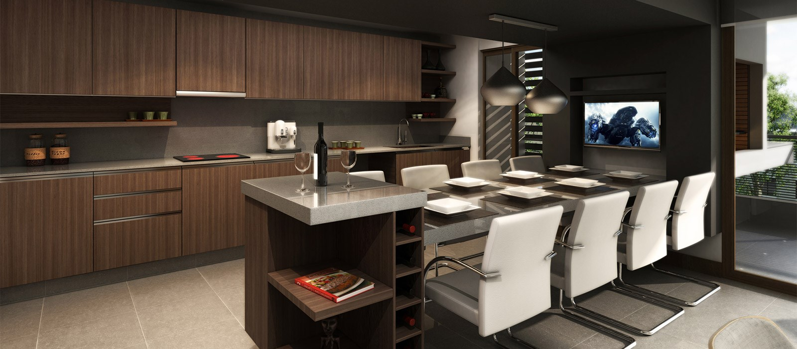 cocinas integradas jorge matte