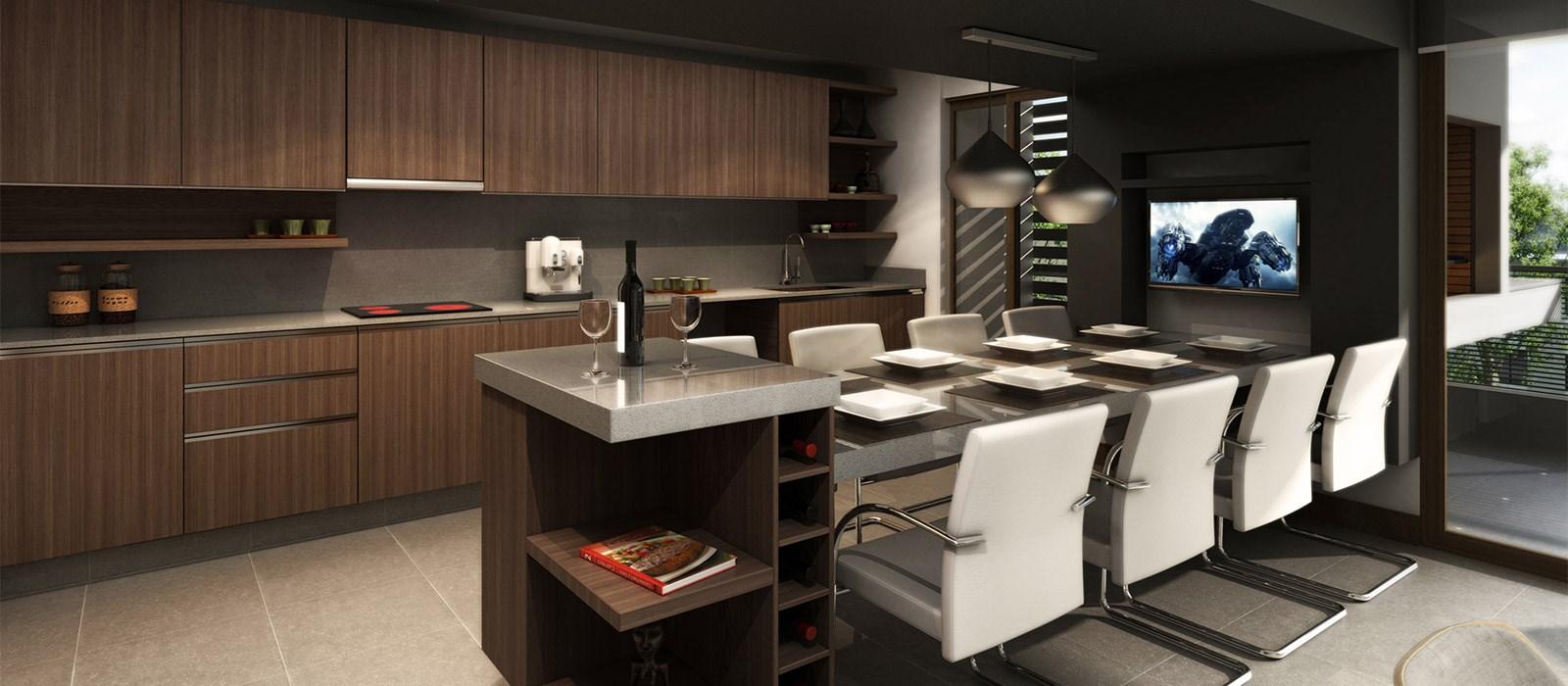 Cocinas integradas jorge matte inmobiliaria aconcagua - Cocinas integradas ...